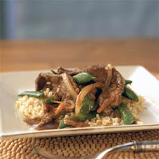 Beef with Sugar Snap Peas
