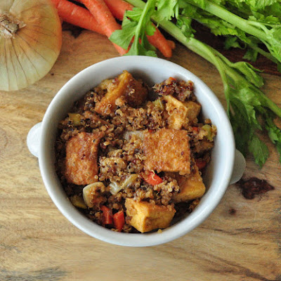 Stir Fried Quinoa