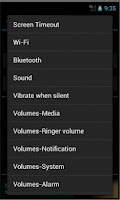 Screenshot of Settings Scheduler