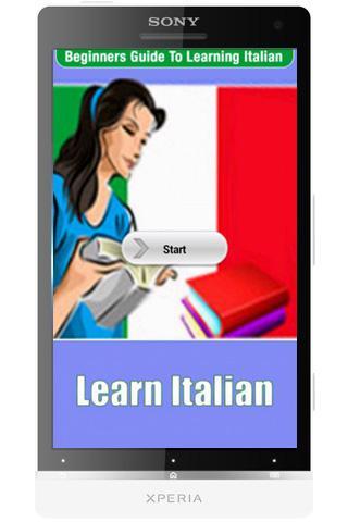 Learning Italian For Beginners