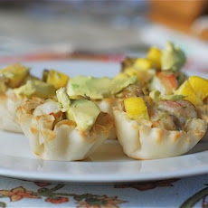 Easy Shrimp Mango & Avocado Cups