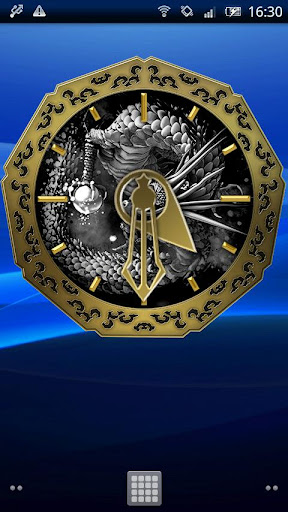 水墨龍神☆金時計