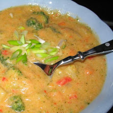 Two-Potato Soup With Broccoli