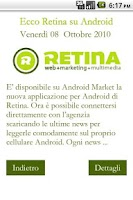 Screenshot of Retina News
