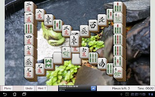 Screenshot of Tablet Mahjong
