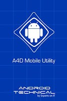 Screenshot of A4D Mobile Utility
