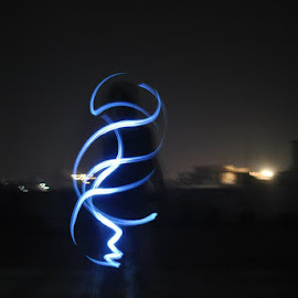 Light by Shoeb Matin - Abstract Light Painting