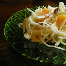 Swedish Cabbage and Orange Salad