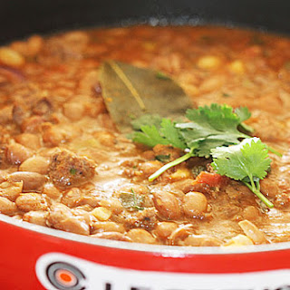 Minced Beef and Pinto Bean Balti