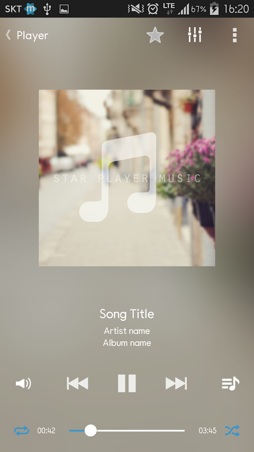 Star Music Player Screenshot 7