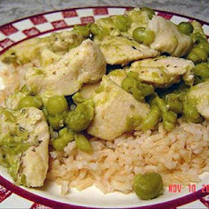 Lemon Garlic Chicken With Rice