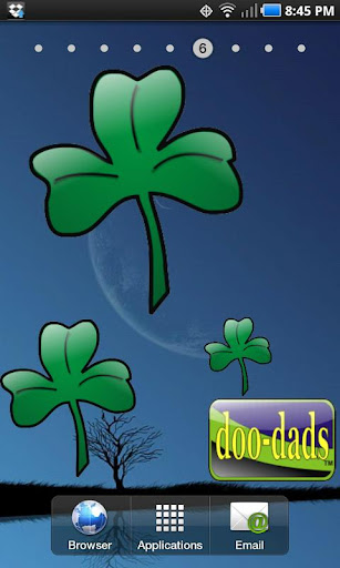 Shamrock doo-dad