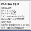 Air Traffic Control Status US icon