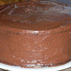 Vegan Chocolate Cake With Vegan Icing