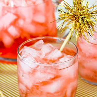 Sparkling Cranberry & St. Germain Pitcher Cocktail