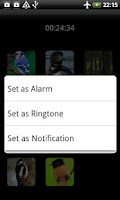 Screenshot of Animals Sounds Ringtones Alarm