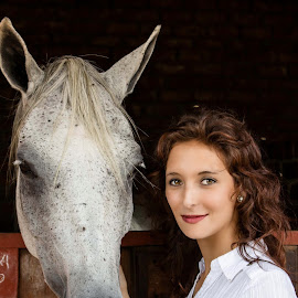 Shooting Models with Horses by Willie van der Merwe - Animals Horses
