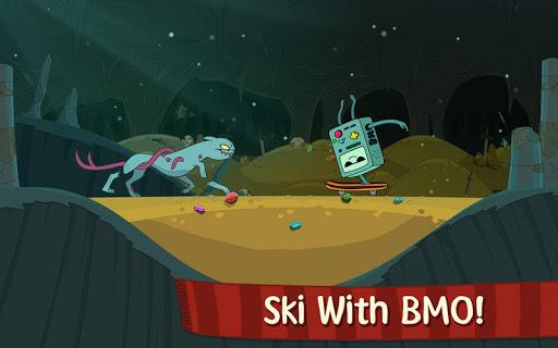 Ski Safari: venture Time - screenshot