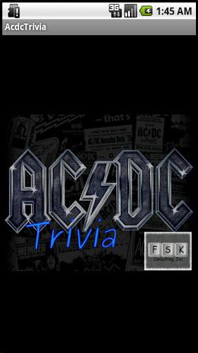 AC DC Trivia