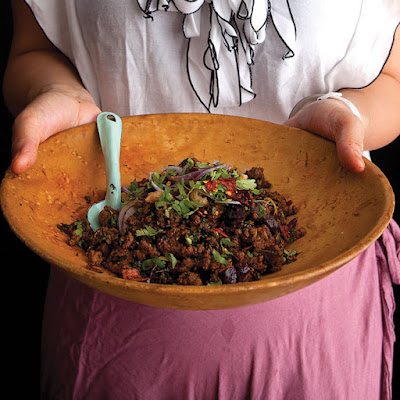 Laab (Thai Minced Pork Salad)