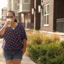 A cup of coffee by Leonel Mendez - People Street & Candids