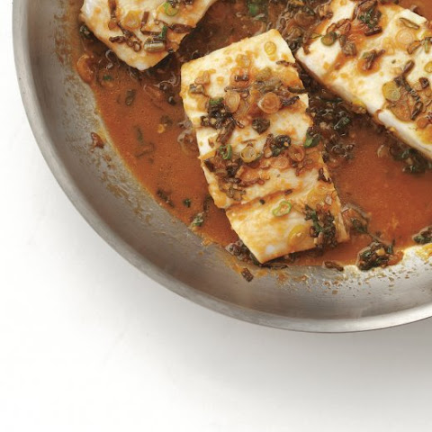 Braised Fish with Orange and Soy