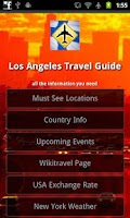 Screenshot of Los Angeles Travel Guide