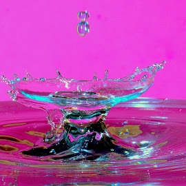 Water drop by Fred Øie - Abstract Macro ( abstract )