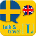 Swedish talk&travel icon
