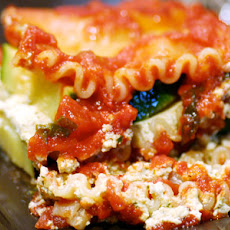 Herbed Tofu and Zucchini Lasagna