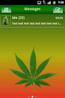 Screenshot of GO SMS PRO Theme Ganja Theme