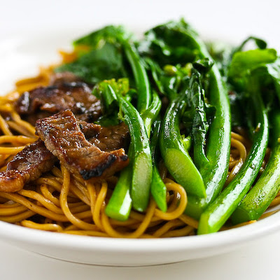 Chinese Broccoli Beef Noodle Stir Fry