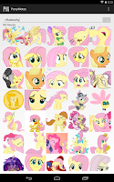 Screenshot of PonyMotes
