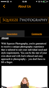 Squeeze Photography - screenshot