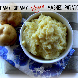 Dreamy Creamy Vegan Mashed Potatoes