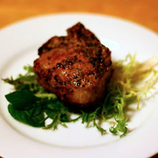 Savory Mint Lamb Chops