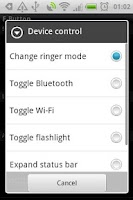 Screenshot of F-Button for HTC ChaCha
