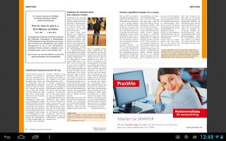 Screenshot of Ergotherapie and Rehabilition
