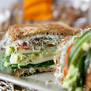 The Ultimate Veggie Sandwich
