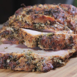 Herb Rubbed Smoked Pork Loin