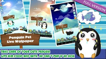 Screenshot of Penguin Pet LWP Free