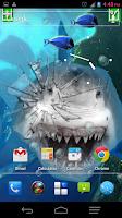 Screenshot of Angry Shark Pet Cracks Screen