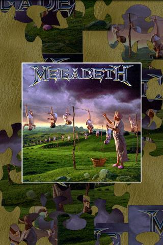 megadeth-puzzle for android screenshot