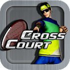 Cross Court Tennis icon