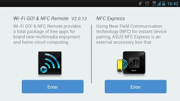 Screenshot of Wi-Fi GO! & NFC Remote