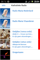 Screenshot of Katholieke Radio