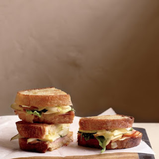 Pressed Ham and Pear Sandwiches