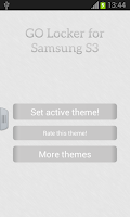 Screenshot of GO Locker for Samsung S3