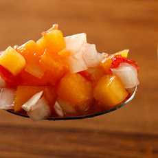 Peach, Tomato, and Sweet Onion Salsa Recipe