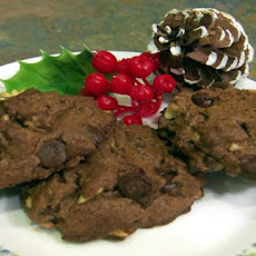 Mocha Walnut Christmas Cookies